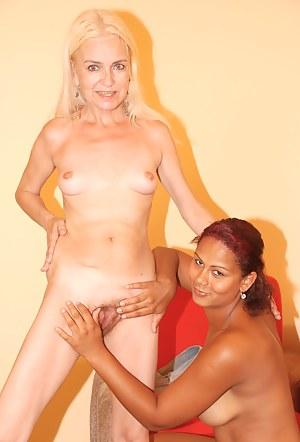XXX Lesbian Teen Interracial Porn Pictures